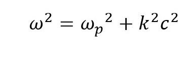 Plasma Frequency Cut-off Equation 2
