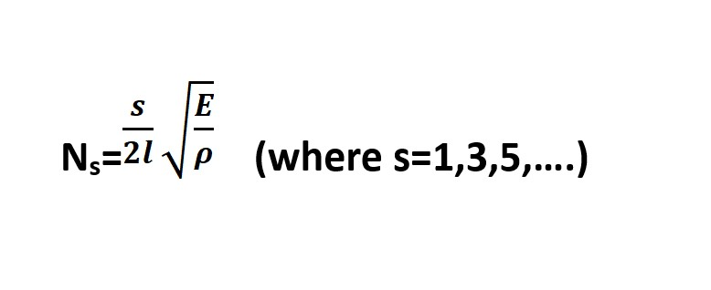 Vibrations of a Rod Equation