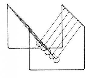 Newton's Cradle Diagram