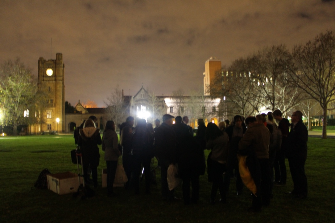 Observing night on the South Lawn