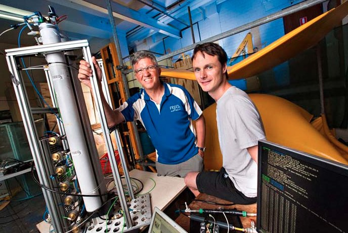 Roger and Bryn with FREO2 technology