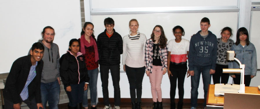 2015 Particle Physics Student Group