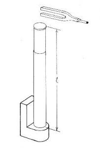 Resonance Tube Diagram