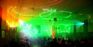 MUPPETS laser show for the community at Mildura